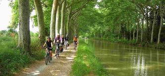 Frankreich Radreise Canal du Midi  Individuell