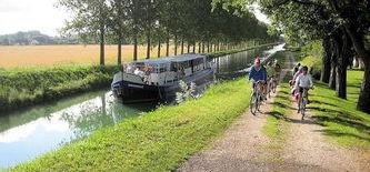 Radreisen Burgund per Fahrrad & Schiff