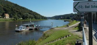 Radreisen an der Elbe von Prag nach Dresden