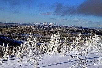 Schweden Schneeschuh Hüttentour Idre