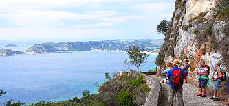 GriechenlandWandern an Korfus Traumküsten