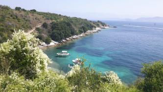Griechenland Wandern und Baden auf Korfu