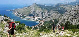 Kroatien Wanderreisen Dalmatien: Wandern in Kroatien